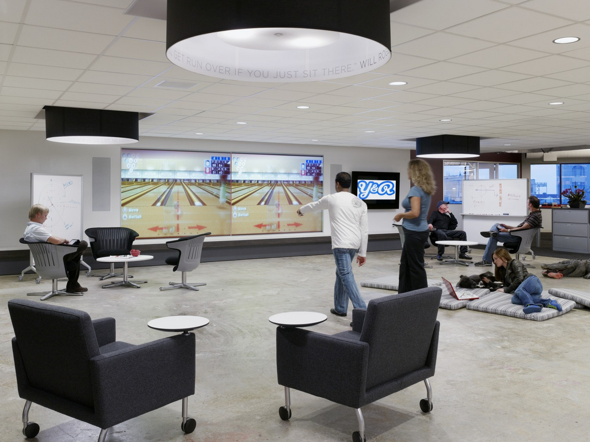 Outstanding Office Games Rooms