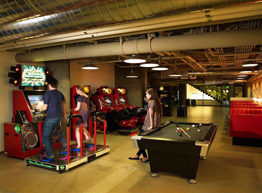 office game room. zynga games room office game