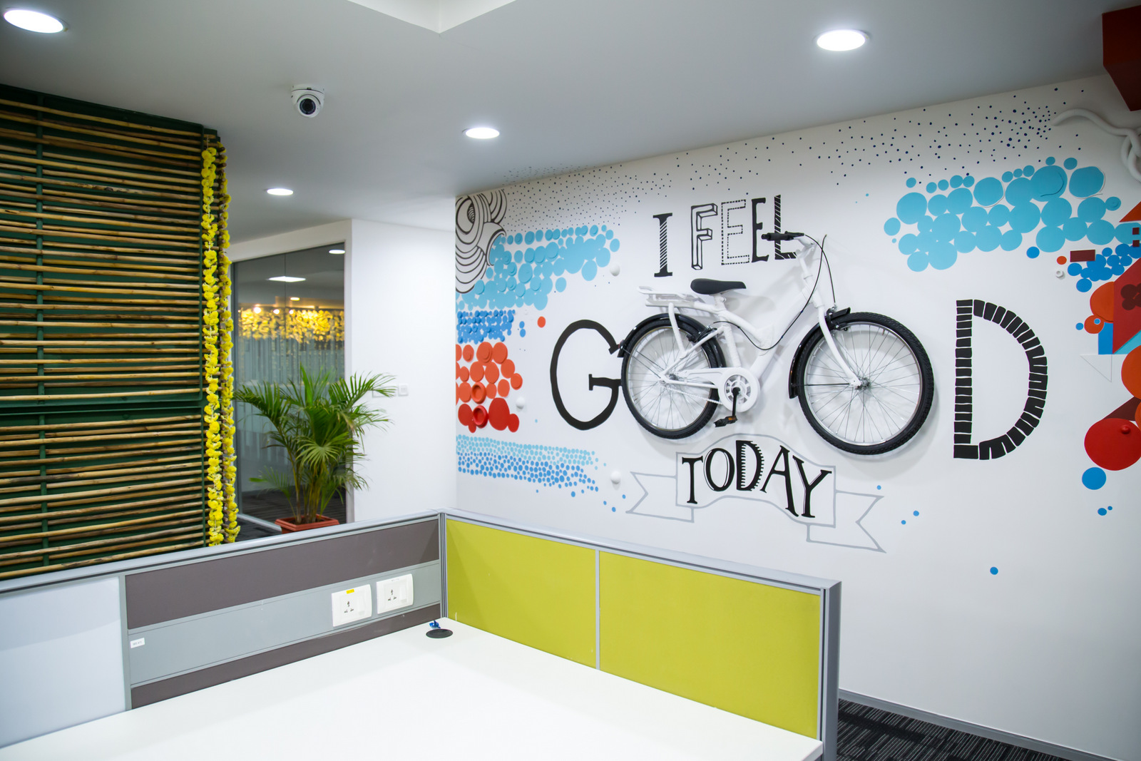 Office wall graphics and murals for Cool life paint cost