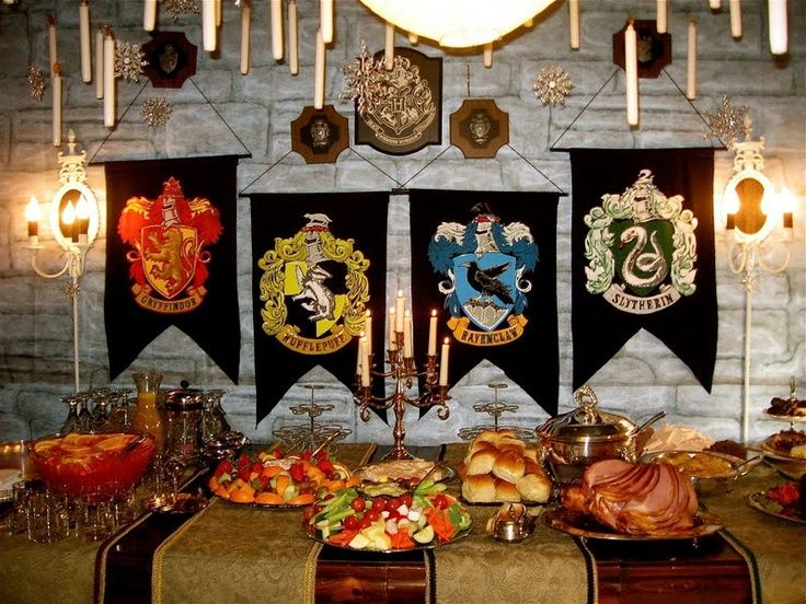 Christmas Party Ideas Christchurch Part - 16: Hogwarts Harry Potter Christmas Party Theme