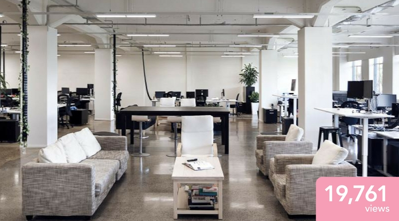Most viewed spaces 2017 for Office design new zealand
