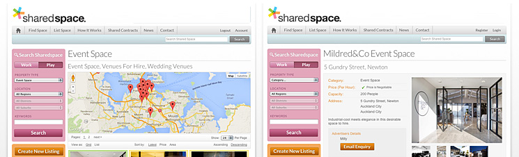 Sharedspace Event Space